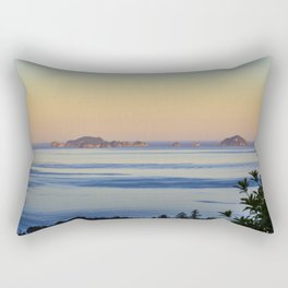 New Zealand - Ocean rocks Rectangular Pillow