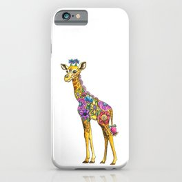 Geraldine the Genuinely Nice Giraffe iPhone Case