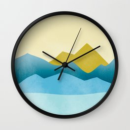 Ode to Pacific Northwest 1 Wall Clock