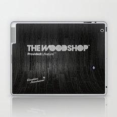 Back Ebony Laptop & iPad Skin