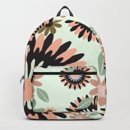 Geometric FLorals Backpack