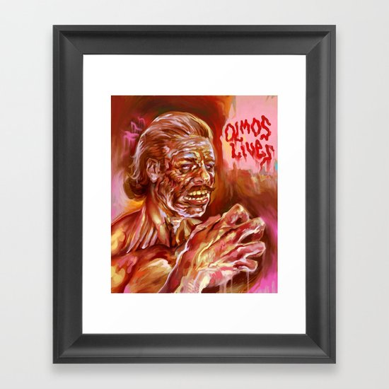 OLMOS LIVES!!! Framed Art Print