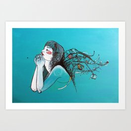 Gift of Life Art Print