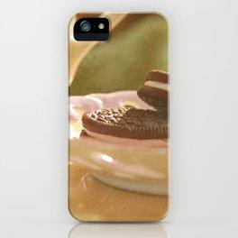 tea + cookies iPhone Case
