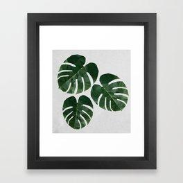 Leaves of Grass Framed Art Print