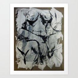 Pose 035 Art Print