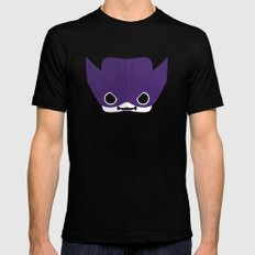 Marshmallow Clint Barton Mens Fitted Tee Black SMALL