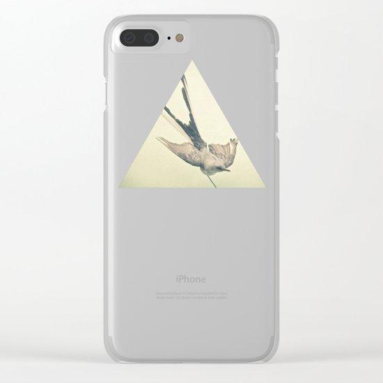 Bird Study #1 Clear iPhone Case