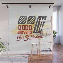 Good Car Drivers Wall Mural