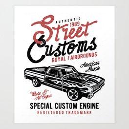Street Customs Royal Fairgrounds Art Print