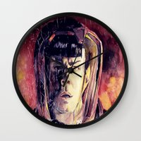spock Wall Clocks featuring Spock  by margaw