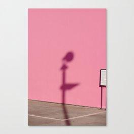 PINK SHADOW LA Canvas Print