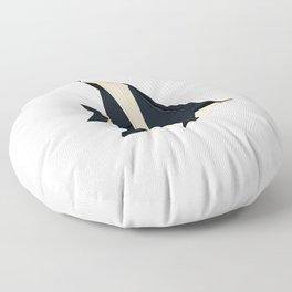 Origami Moorish Idol Floor Pillow