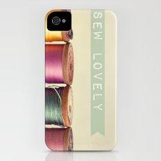 Sew Lovely Slim Case iPhone (4, 4s)