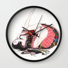 When I Think About You Wall Clock