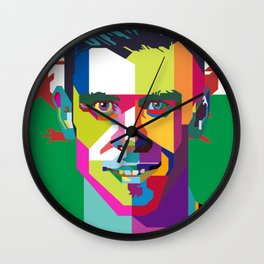 Gareth Bale WPAP Wall Clock