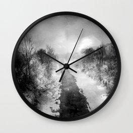 In the Distance II Wall Clock