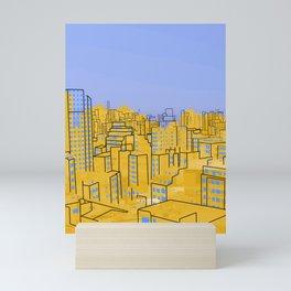Skyline V Mini Art Print