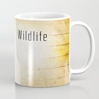 wildlife Mugs featuring Wildlife by AhaC