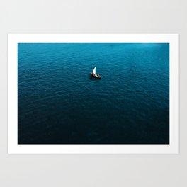 Sole Sailing Art Print