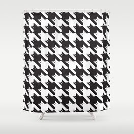 Catstooth Pattern Shower Curtain
