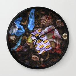 Hubba Bubba Bubblegum Alley San Luis Obispo Wall Clock