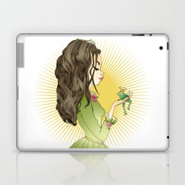 The princess and the frog Laptop & iPad Skin