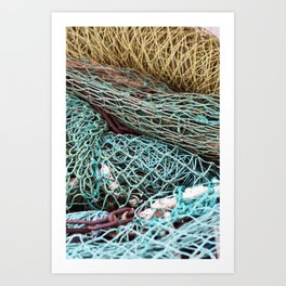 FISHING NET Art Print
