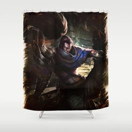 League of Legends YASUO Shower Curtain