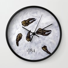 untitled (dead things 07) Wall Clock