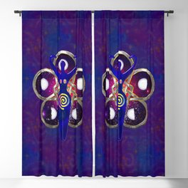 Cycles 3D Egyptian Goddess Blackout Curtain