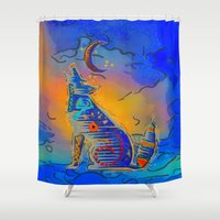 howl Shower Curtains featuring Howl Mystic by BohemianBound