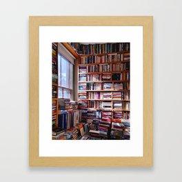 Little-rary Space Framed Art Print