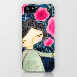 Quilted Princess iPhone Case