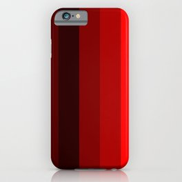 red stripes home decor iPhone Case