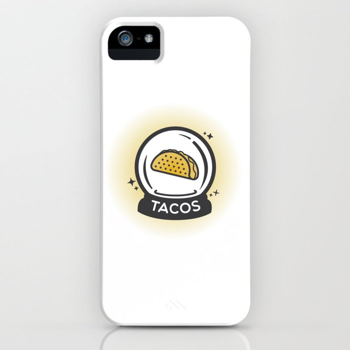 Tacos In Your Future iPhone Case