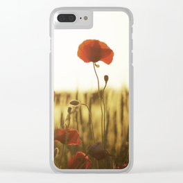 Bright Blooms Clear iPhone Case