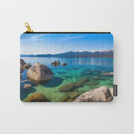 Let's Jump In At Sand Harbor, Lake Tahoe Carry-All Pouch