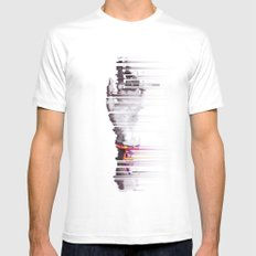 An Artist's Tool Pt. II White LARGE Mens Fitted Tee