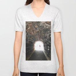 Tunnel Of Love Unisex V-Neck