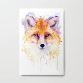 Miss Foxy Metal Print