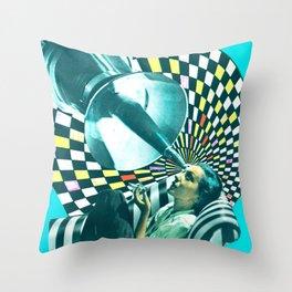 Dream Machine Throw Pillow