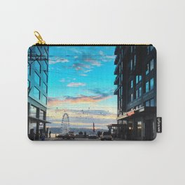 Seattle Summer Sunset Carry-All Pouch