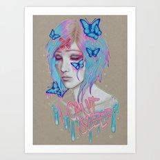 I Can't Sleep Art Print
