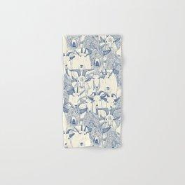 just goats classic blue pearl Hand & Bath Towel
