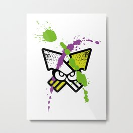 Splatoon - Turf Wars 2 Metal Print