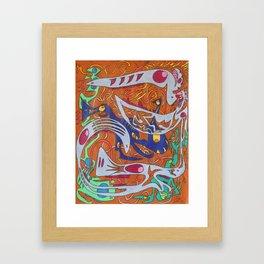 Benchmark Sparks Framed Art Print