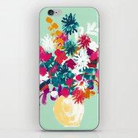 blush iPhone & iPod Skins featuring Blush by Picomodi