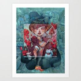 Filtered Art Print