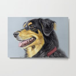 Dog Portrait 01 Metal Print